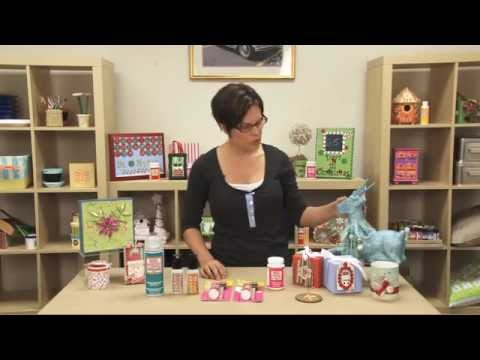 Mod Podge Holiday Formulas and Craft Projects