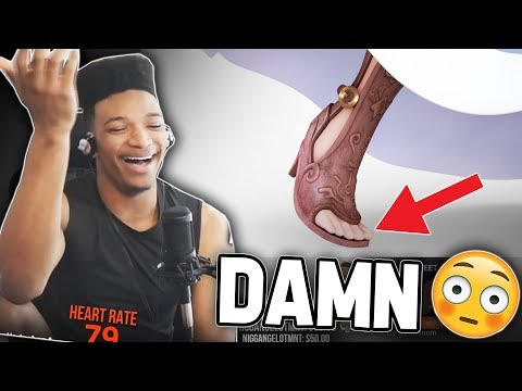ETIKA REACTS TO ZELDA'S FEET ( SMASH ULTIMATE MEME )