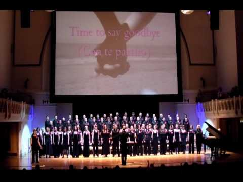 The Pink Singers - Time To Say Goodbye (Con Te Partirò) - A Little Light Music