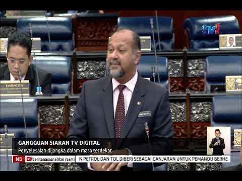 N8 – GANGGUAN SIARAN TV DIGITAL – PENYELESAIAN DIJANGKA DALAM MASA TERDEKAT  [22 NOV 2018]