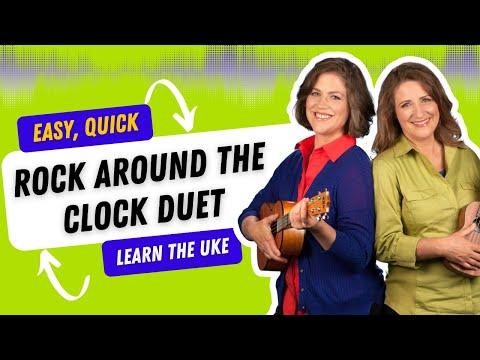 Easy Ukulele Songs Rock Around the Clock - 21 Songs in 6 Days: Learn Ukulele the Easy Way
