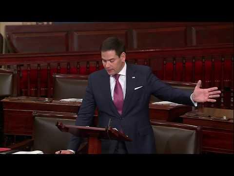 Senator Rubio delivers strern warning to Trump over China, ZTE