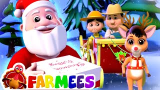 Deck The Halls | Christmas Songs for Kids | Xmas Carols | Nursery Rhymes by Farmees