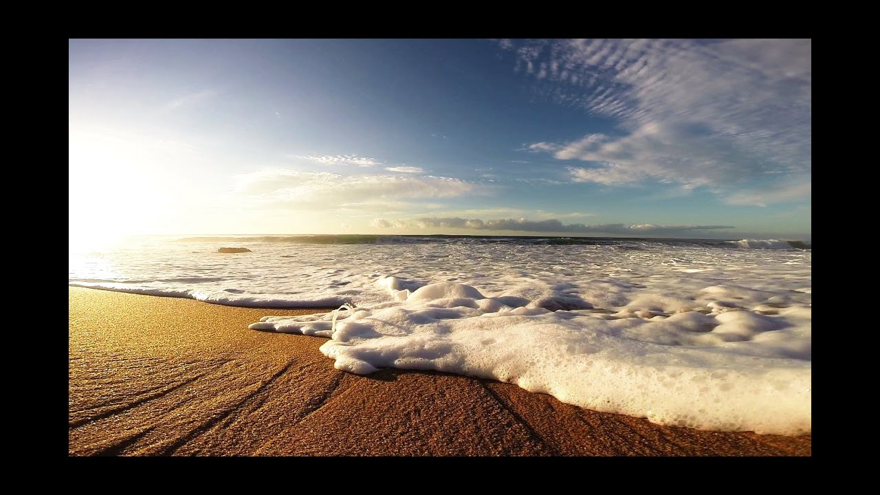 Waves Crashing onto The Beach Time Lapse - Royalty Free HD Video Stock  Footage