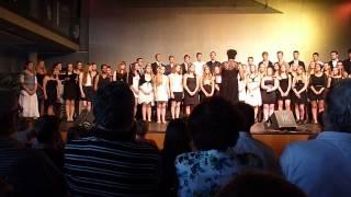 """Großer Chor des Graf-Rasso-Gymnasiums Sommerkonzert 2013 """"Hallelujah"""""""