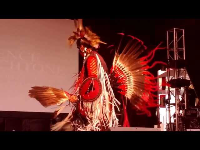 Algonquin Traditional  Dance by Jerry Hunter