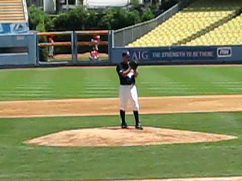 Westminster Christian Academy RHP Jacob Turner 2008 AFLAC game