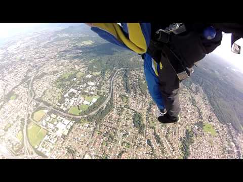 Tandem Skydive - Sarah Travis