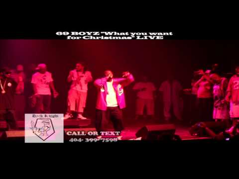 """69 Boyz performing """"What you want for Christmas"""" LIVE"""