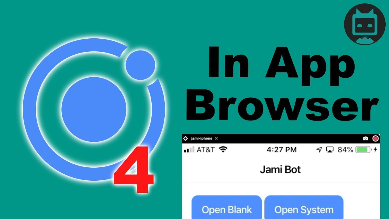 Ionic 4 Inappbrowser Example
