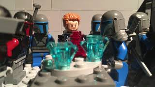 lego star wars mandalorian attack stop motion : english subtitles