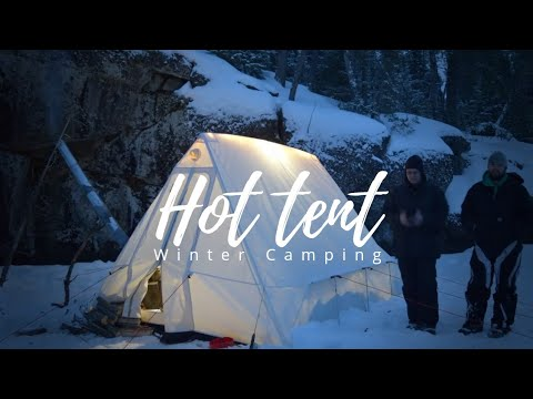 Hot Tent Camping - Boundary Waters
