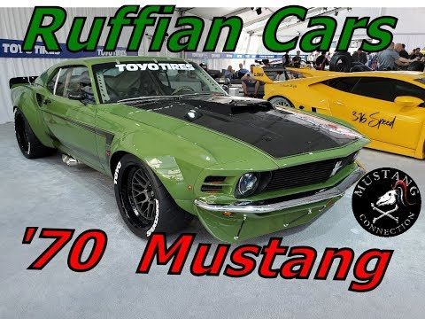 Ruffian Cars 1970 Trans AM style Mustang Sportsroof. SEMA 2019 Mustang Connection