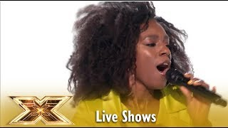 Shan Ako BRINGS TEARS With Elton John CLASSIC Simon LOVED IT  Live Shows 2  The X Factor UK 2018