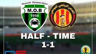 كأس الاتحاد الإفريقي  الترجي - مولودية بجاية 1 - 1