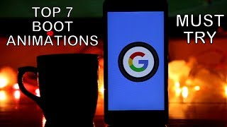 Top Boot Animations Android ( Custom Bootanimations 2017 )/Android O Boot Animation Install
