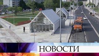 Смотреть видео Мэр Москвы провел технический пуск Солнцевского радиуса метро. онлайн