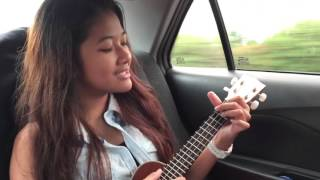 Kelly kiara love yourself response ukulele cover by alliyah bianca david