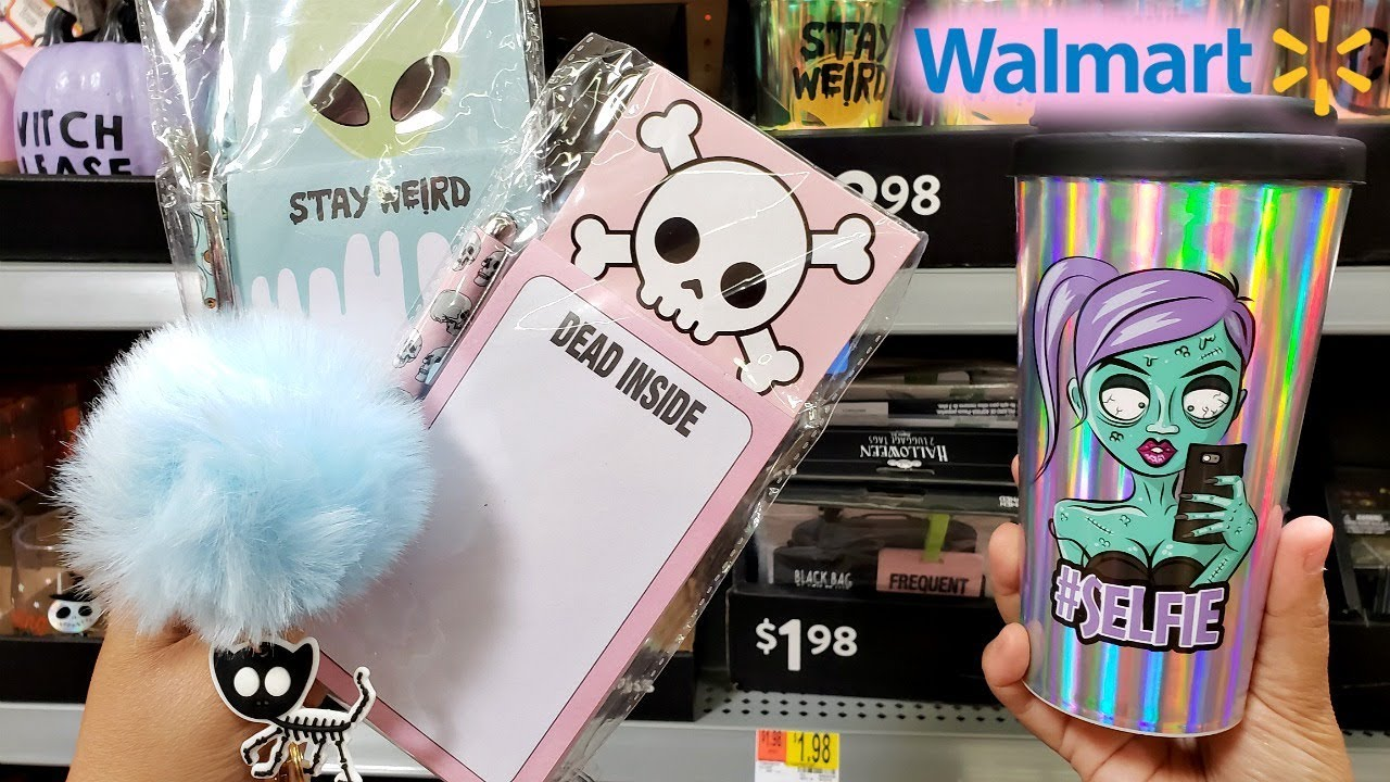 Walmart Halloween Shop With Me Pastel Zombies Ideas 2018 Youtube