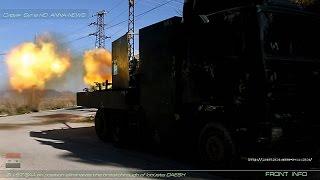 Сирия Syria HD ★ ЗУ-57 САА на позиции устраняет прорыв саранчи ДАИШ