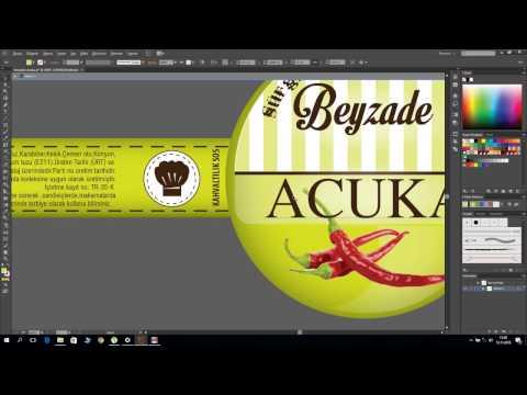 Label Design With illustrator