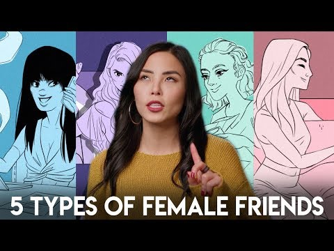 5 Types of Female Friendships