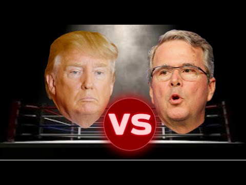 Donald Trump vs. Jeb Bush - 2015 Compilation