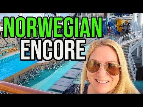 Norwegian Encore Christening Cruise   Norwegian Cruise Line