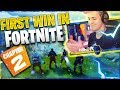 MY FIRST WIN IN FORTNITE CHAPTER 2 Fortnite Battle Royale mp3