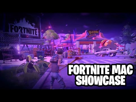 Fortnite Mac Showcase - 2015 Apple Demo