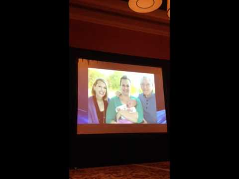 The Circle Game: Renee Safier & Andy Hill at the Bill Sharman Memorila Service