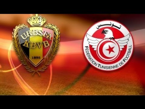 belgique tunisie fifa 14 world cup match amical