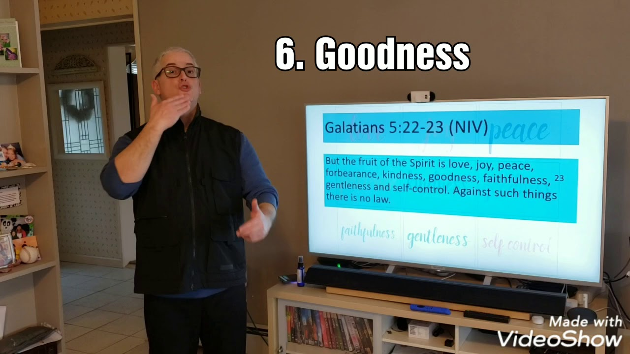 ASL Fruit of the Holy Spirit