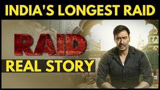 RAID Movie Real Story   Longest Income Tax Raid 1981   Ajay Devgn   Ileana D'Cruz   2018 Film