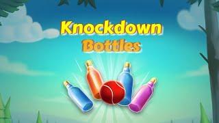 knockdown Bottles ( Bottle Shooting Game ) Gameplay screenshot 4
