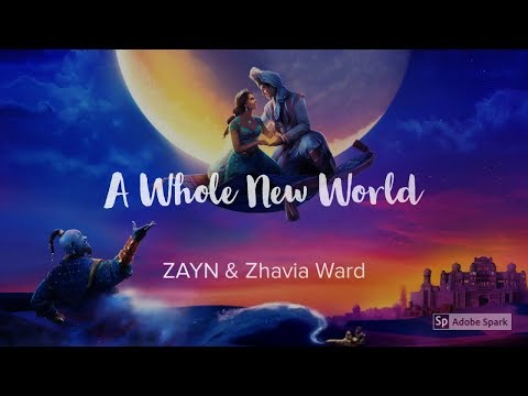 ZAYN, Zhavia Ward - A Whole New World (End Title) Lyrics