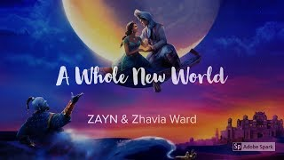 Gambar cover ZAYN, Zhavia Ward - A Whole New World (End Title) Lyrics