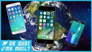 Quels sont les smartphones les plus vendus dans le monde ? DQJMM (1/2)