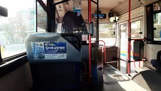 부산시내버스 영신여객 161번 주행영상
