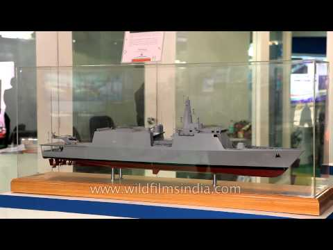 Offshore Patrol Vessel design by Goa Shipyard Limited