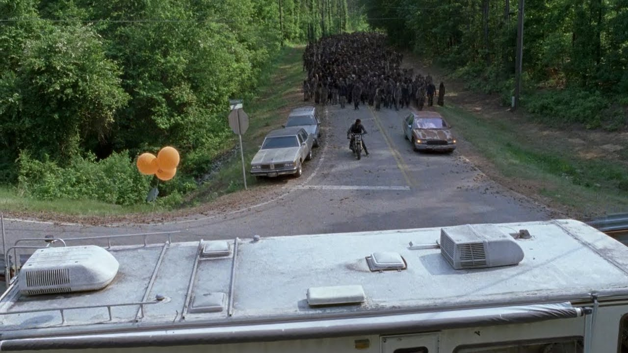 Download TWD S6E1 - Leading Walkers away (3/5) | Carter questions Rick's plan
