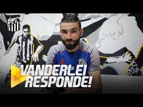 VANDERLEI RESPONDE PERGUNTAS DE CRIANÇAS NO DIA DO GOLEIRO