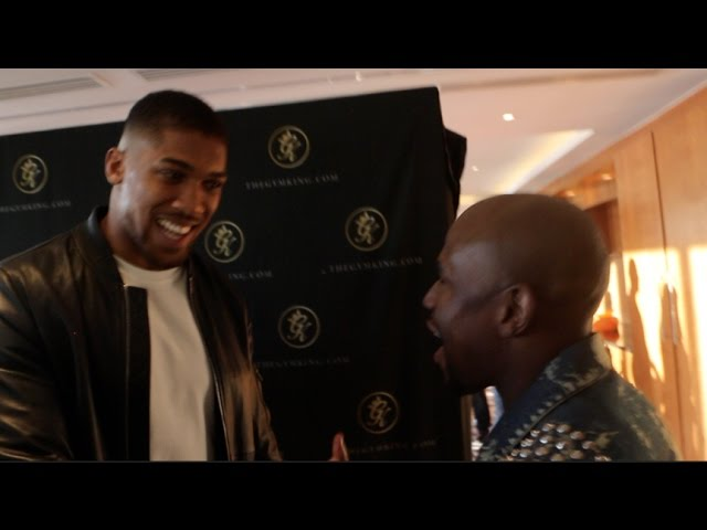Floyd Loses Self-Esteem Over Anthony Joshua