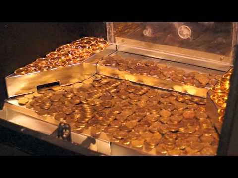 Münzschieber Eigenbau (homemade coinpusher)