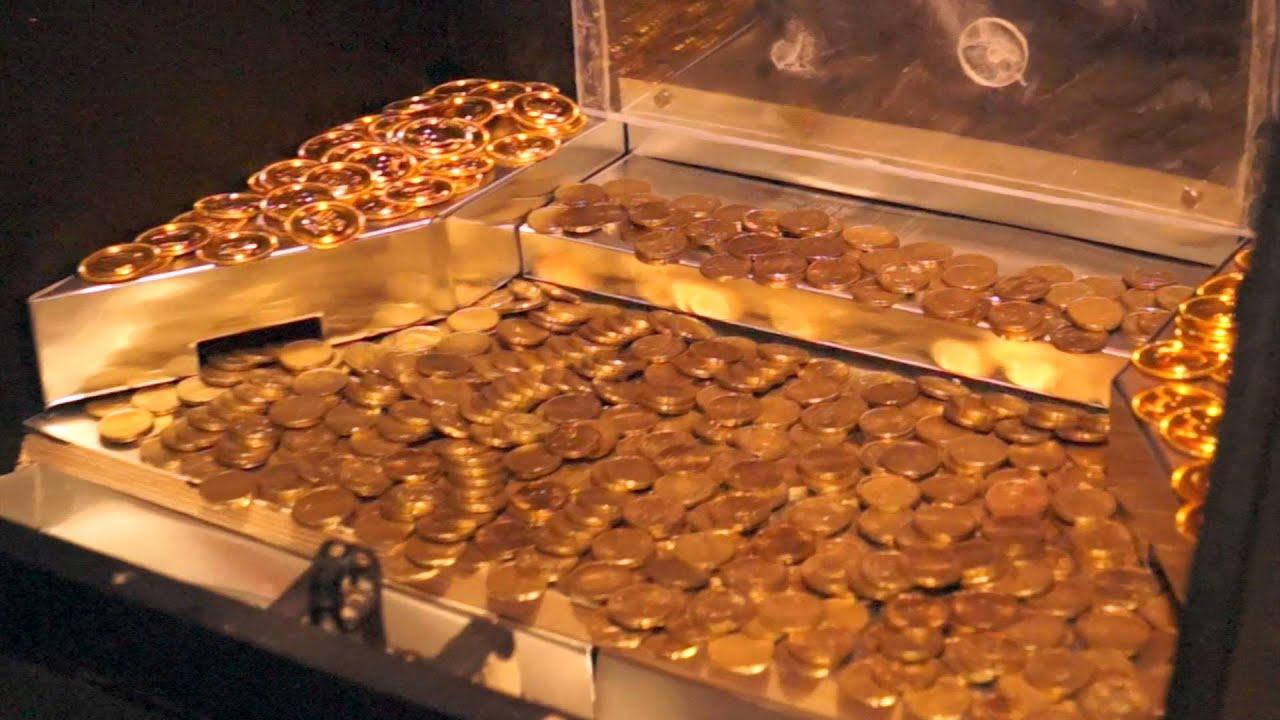Münzschieber Automat