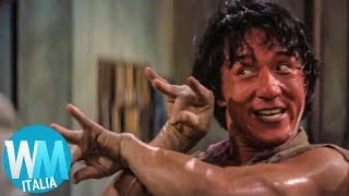 Top 10 INFORTUNI FOLLI di JACKIE CHAN nei suoi FILM!