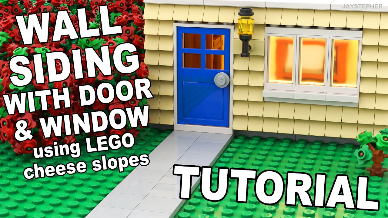 sc 1 st  YouTube & Tutorial - Lego Siding With A Door And Window [CC] - YouTube