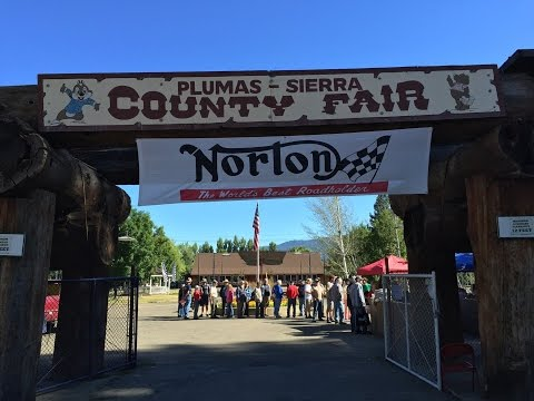 INOA 2016 Feather River Rally, Quincy CA - Day 1 - arriving at the showground