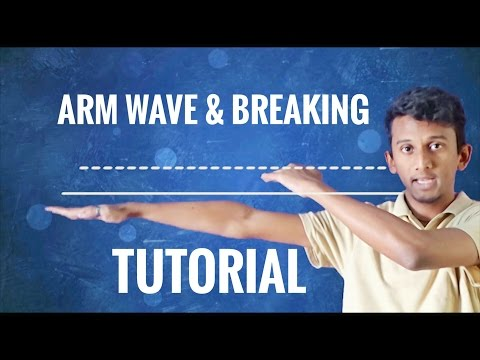 How To Do The Arm Wave & Breaking || Step By Step Tutorial ||