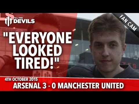 """Arsenal 3-0 Manchester United - Sánchez, Özil goals - """"Everyone Looked Tired!"""" - FANCAM - 동영상"""